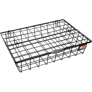 ORCA 88 WIRE LETTER TRAY WITH LID PLASTIC COATED  BLACK