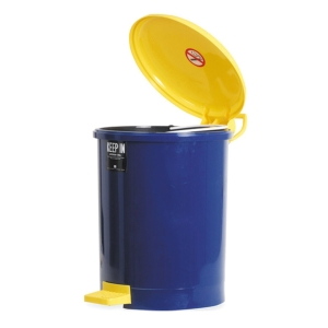 KEEP IN RW9085 LITTER BIN WITH LID 18 LITRES NAVY