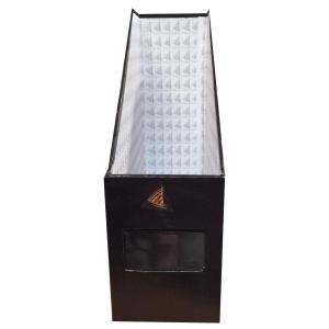 กล่องเก็บเอกสาร 1 ช่อง10X28X30.5ซม. สีดำ