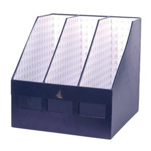 MAGAZINE BOX 3 PARTS NAVY BLUE