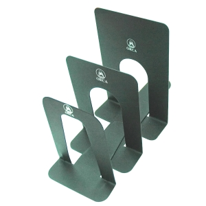 ORCA BOOKEND XL 9  X 6  BLACK - PACK OF 2