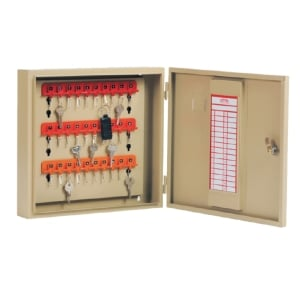 KINGDOM KB830 STEEL KEY BOX CREAM