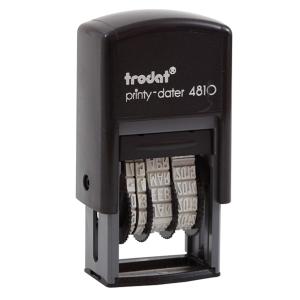 TRODAT TR-4810/T SELF INKING DATE STAMP THAI LANGUAGE BLACK