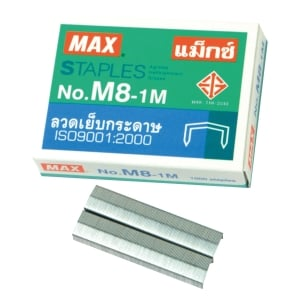 MAX M8-1M (B8) STAPLES - BOX OF 1000