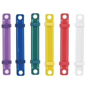 DIAMOND PLASTIC FASTENER ASSORTED COLOURS - PACK OF 50
