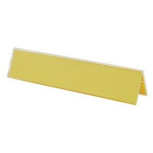 2-SIDED DESKTOP NAME PLATE HOLDER 15   X 3