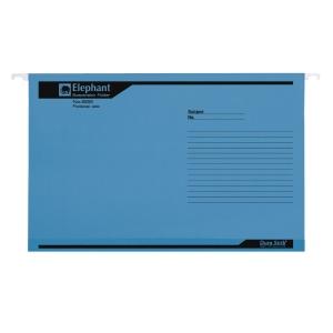 ตราช้าง แฟ้มแขวน 926F240x364 มิลลิเมตร สีน้ำเงิน แพ็ค 10เล่ม