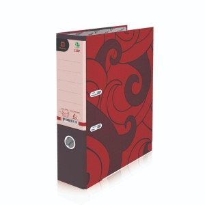 ELEPHANT 120 LEVER ARCH FILE CARDBOARD F 3   RED