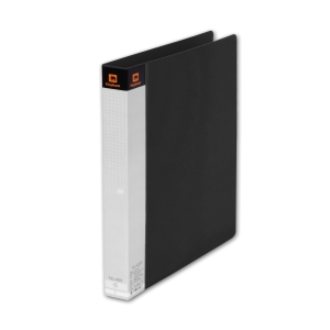 ELEPHANT 420 2 O-RING BINDER FOLDER A4 1   BLACK