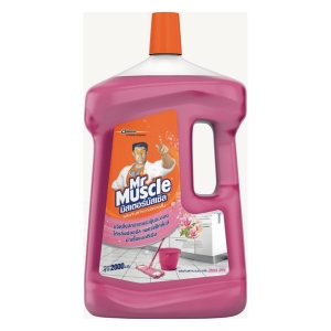 MR MUSCLE น้ำยาทำความสะอาดพื้น กลิ่นฟลอรัลเพอร์เฟ็คชั่น 1800 มิลลิลิตร