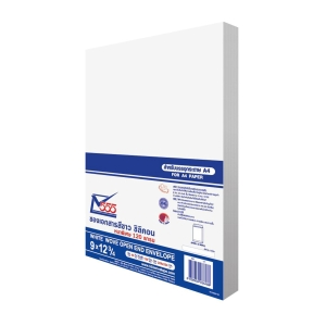 555 ENVELOPE OPEN-END 120GRAM SIZE 9 X12.3/4  (C4) WHITE - PACK OF 50