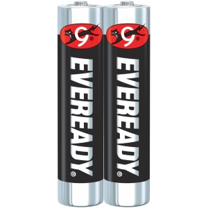 EVEREADY 1212 CARBON ZINC BATTERIES AAA PACK OF 2