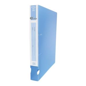 E-FILE แฟ้มห่วง2 ห่วง A4 สัน 1.5 นิ้วสีฟ้า