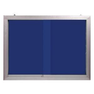 APEX GLASS COVERED NOTICE BOARD 90 X 120CM