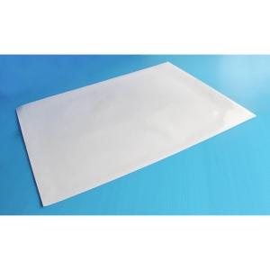 แผ่นสติกเกอร์ 53X70 เซนติเมตรสีขาวใส