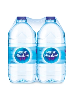 NESTLE น้ำดื่มเนสท์เล่เพียวไลฟ์ 6ลิตร แพ็ค 2 ขวด