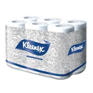 KLEENEX กระดาษอเนกประสงค์100 แผ่น แพ็ค 6ม้วน