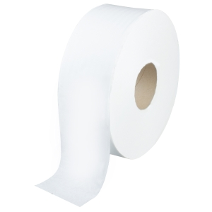 KIMSOFT JUMBO ROLL TISSUE 2-PLY 300METRES