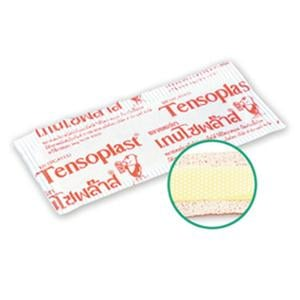TENSOPLASTIC CLOTH  BAND AID  WITH MEDICINE BOX OF 100