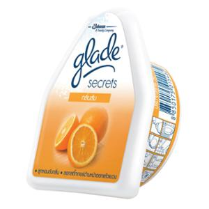 GLADE SECRET AMBIENT PERFUME ORANGE 50 GRAMS