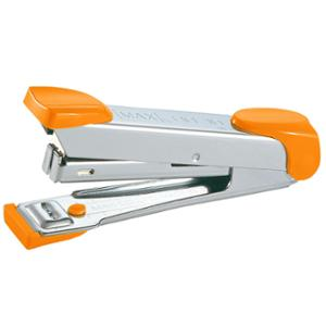 MAX HD-10 HALF-STRIP STAPLER ORANGE