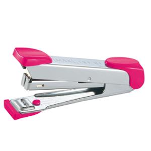 MAX HD-10 HALF-STRIP STAPLER PINK