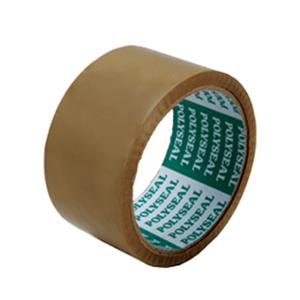 POLYSEAL OPP PACKAGING TAPE SIZE 2 INCH X 45 YARDS CORE 3 INCH BROWN