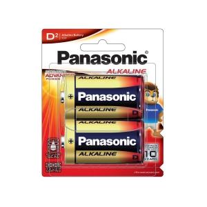 PANASONIC LR20T/2B ALKALINE MAX BATTERIES PACK OF 2