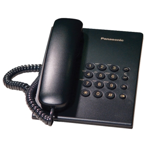 PANASONIC KX-TS500MX TELEPHONE BLACK