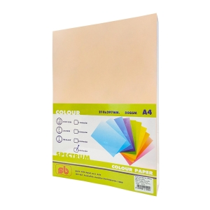 SB COLOURED COPY PAPER A4 80G - ORANGE - REAM OF 500 SHEETS