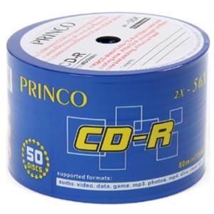 PRINCO แผ่น CD-R 80 นาที 700 MB 2X-56x บรรจุ 50 แผ่น