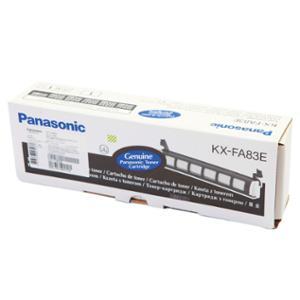 PANASONIC ตลับหมึกเครื่องโทรสารเลเซอร์ KX-FA83Eสีดำ