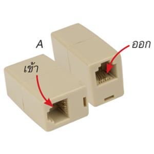 A201 CONNECTOR BOX IN/OUT LINE CREAM
