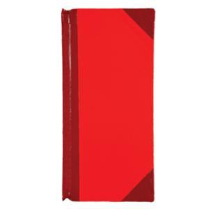 สมุดบัญชีจีนมุมมัน 20/100 110X220มม. 80 แกรม บรรจุ 100 แผ่น