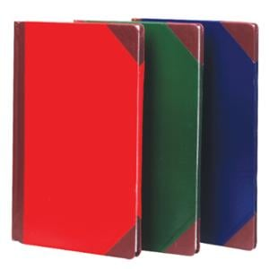 HARD COVER NOTEBOOK RULED 5/100 210MMX330MM 80G 100 SHEETS