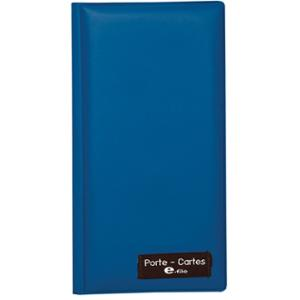 E-FILE 101 BUSINESS CARD HOLDER FOR 120 CARDS BLUE