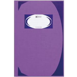 ELEPHANT HC-105 HARD COVER NOTE BOOK 210MM X 320MM 70G 100 SHEETS PURPLE