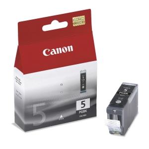 CANON ตลับหมึกอิงค์เจ็ท PGI-5BK สีดำ