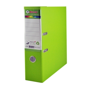 HORSE H-1002 LEVER ARCH FILE CARDBOARD F 3   LIGHT GREEN