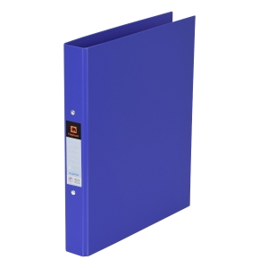 ELEPHANT 221 2-O-RING BINDER FOLDER A4 1   BLUE