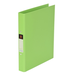 ELEPHANT 221 2-O-RING BINDER FOLDER A4 1   GREEN