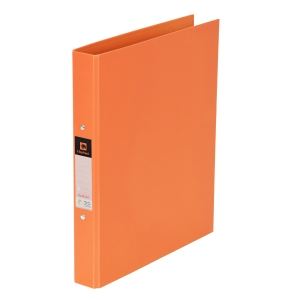 ELEPHANT 221 2-O-RING BINDER FOLDER A4 1   ORANGE