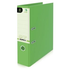 ELEPHANT 2100F LEVER ARCH FILE CARDBOARD F 3   LIME