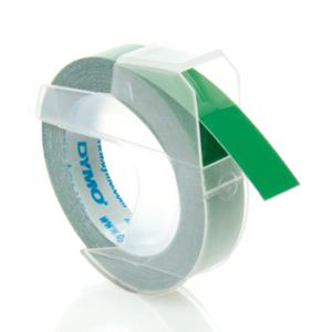 DYMO 5238 EMBROSSER TAPE 9MMX3M GREEN