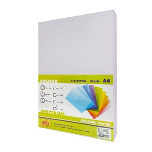 SB COLOURED COPY PAPER A4 80G - PURPLE - REAM OF 500 SHEETS