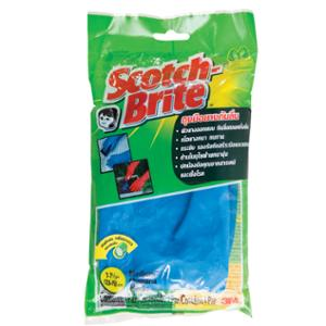 SCOTCH-BRITE GLOVES RUBBER PAIR MEDIUM