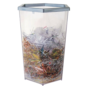 KEEP IN RW9271 TRANSPARENT WASTE DUSTBIN 56 LITRES CLEAR