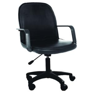 ACURA KA-38A OFFICE CHAIR PVC BLACK