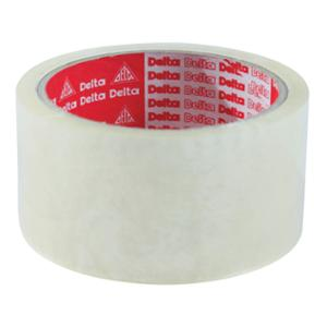 DELTA OPP PACKAGING TAPE ACRYLIC ADHESIVE SIZE 2  X 45 YARDS CORE 3  CLEAR