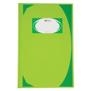 ตราช้าง สมุดบันทึกมุมมัน HC-107 210 X 320มม. 70 แกรม บรรจุ 100 สีเขียวอ่อน
